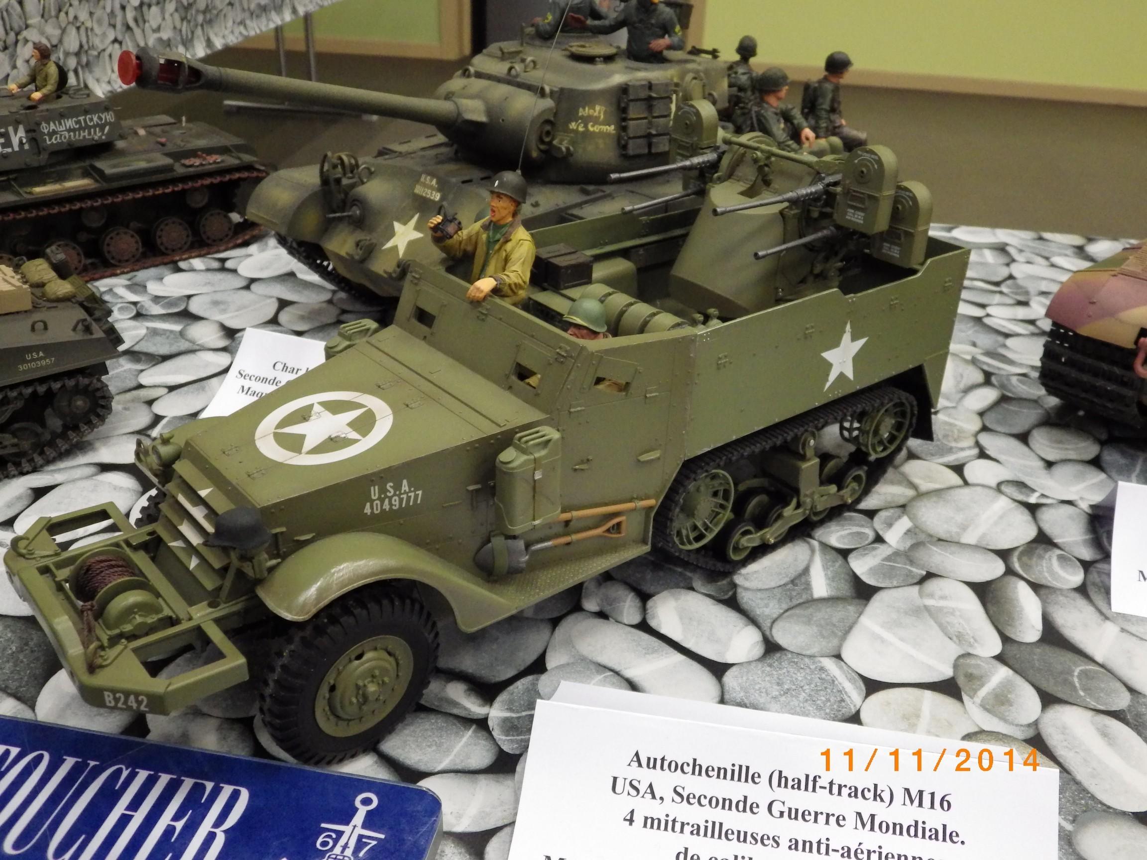 Anhänger am Torro-M16 -- RC-Panzer
