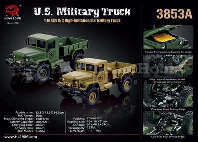 Neuheit: Heng Long Military Truck (1:16)