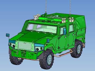 Mowag Eagle IV (1:16) ... Modellbau im 21. Jahrhundert