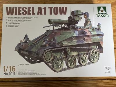 Wiesel A1 TOW 1/16 Standmodell von Takom