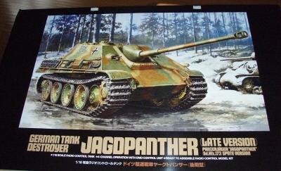 Ausgepackt - Der Jagdpanther von Tamiya im Maßstab 1/16