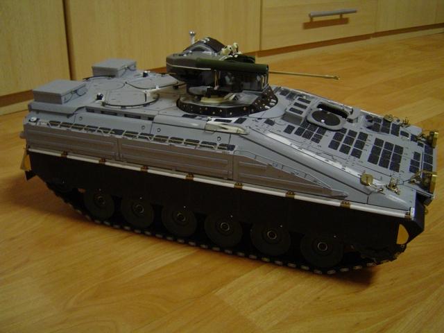 sch tzenpanzer marder 1a5 1 16 auf pm basis rc panzer. Black Bedroom Furniture Sets. Home Design Ideas