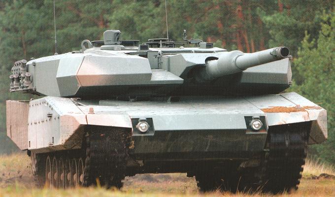 Kpz Leopard 2 A4 Evolution Rc Panzer
